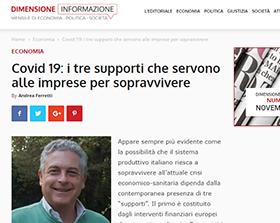 Covid 19: i tre supporti che servono alle imprese per sopravvivere