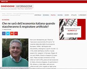 Che ne sarà dell'economia italiana quando staccheranno il respiratore artificiale?
