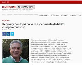 Recovery Bond: primo vero esperimento di debito europeo condiviso